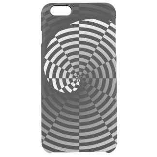 Digital-Schachbrett Yin Yang Durchsichtige iPhone 6 Plus Hülle