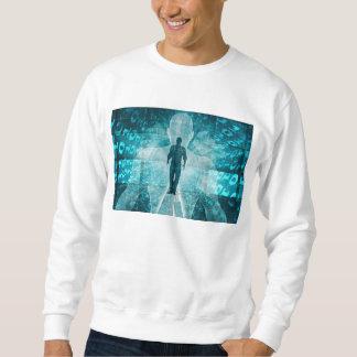 Digital-Umwandlung und Adoptieren der neuen Sweatshirt