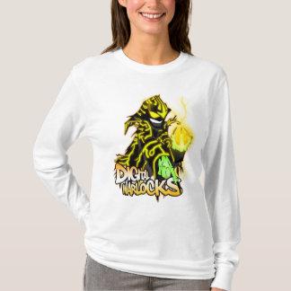 Digital-Zauberer - gelber Zauberer - Damen OM T-Shirt