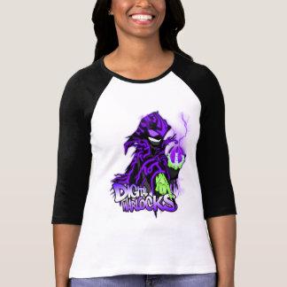 Digital-Zauberer-lila Zauberer - Damen 3/4 Sleev T-Shirt