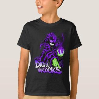 Digital-Zauberer-lila Zauberer - Kinderdunkelheit T-Shirt