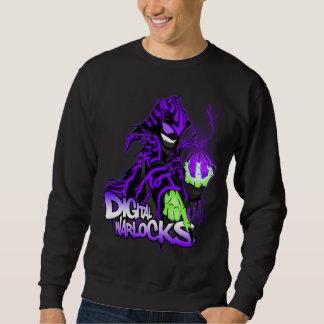 Digital-Zauberer-lila Zauberer Sweatshirt