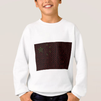 digitale Flagge (China) Sweatshirt
