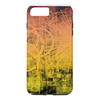 Digitales Zeitalter iPhone 8 Plus/7 Plus Hülle