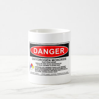 Dihydrogen-Monoxyd-Tasse 1 Kaffeetasse
