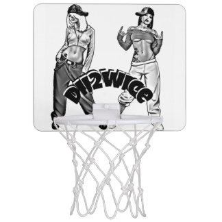 Dii2wice Minibasketball-Ziel Mini Basketball Netz