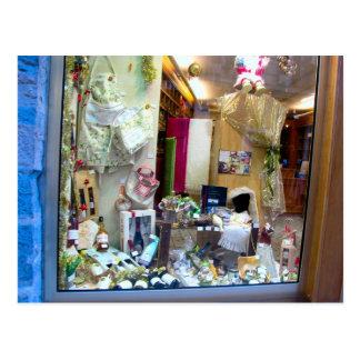 Dijon, Geschäfts-Fenster Postkarte