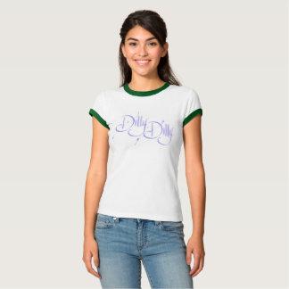 Dilly, Dilly-lila blauer T - Shirt - seien Sie
