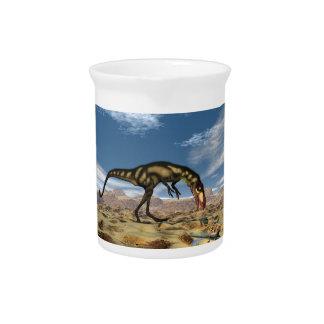Dilong Dinosaurier - 3D übertragen Getränke Pitcher