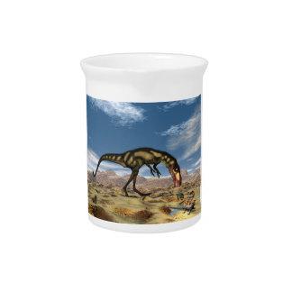 Dilong Dinosaurier - 3D übertragen Krug