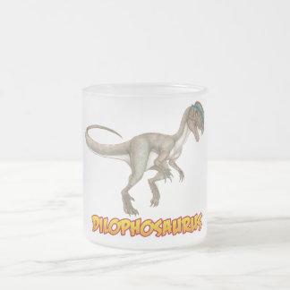 Dilophosaurus Matte Glastasse