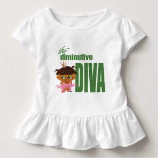 Diminutive Diva Kleinkind T-shirt