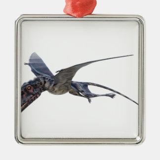 Dimorphodon Fliegen Silbernes Ornament