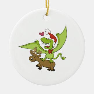 Dimorphodon Weihnachtsverzierung Keramik Ornament