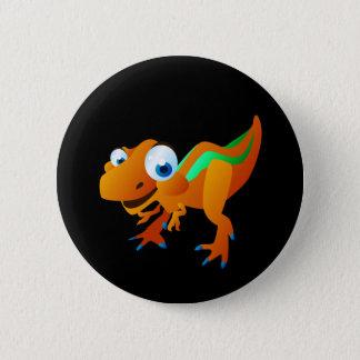 Dina der Dinosaurier Runder Button 5,7 Cm