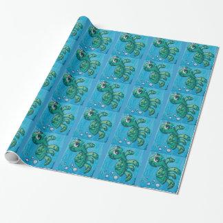 Dinas Meeresschildkröte-Packpapier Geschenkpapier