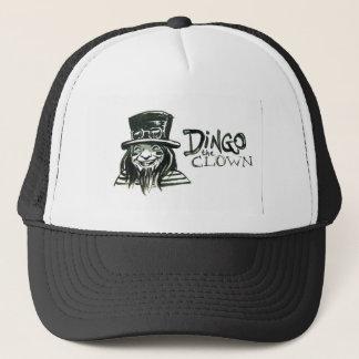 Dingo Dizmal Porträt getan von Kevin Reynolds Truckerkappe