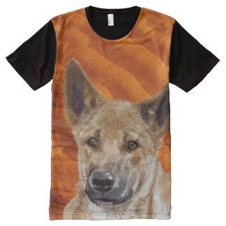 Dingot-shirt T-Shirt Mit Komplett Bedruckbarer Vorderseite