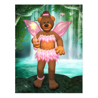 Dinky Bären, die Fee verzaubern Postkarte