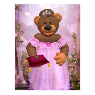 Dinky Bären: Die Prinzessin und die Erbse Postkarte