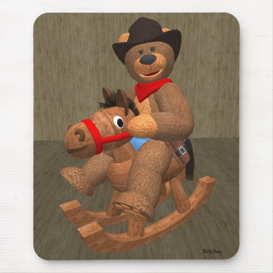 Dinky Bären: Kleiner Cowboy Mousepads