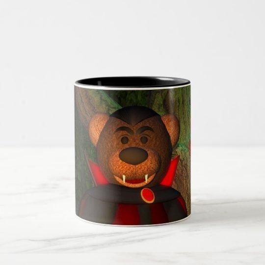Dinky Bären kleiner Dracula Zweifarbige Tasse