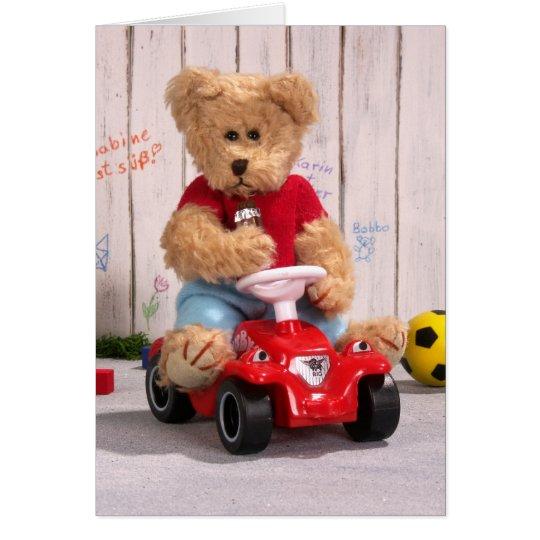 Dinky Bären: Little Boy Karte