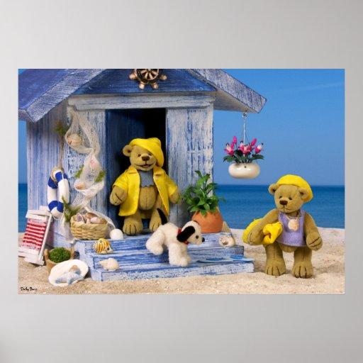 Dinky Bären: Sommer-Spaß Poster
