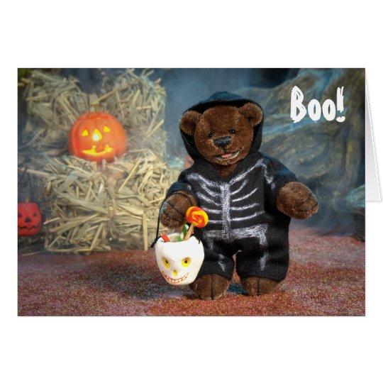 Dinky Bären wenig Skelett Karte