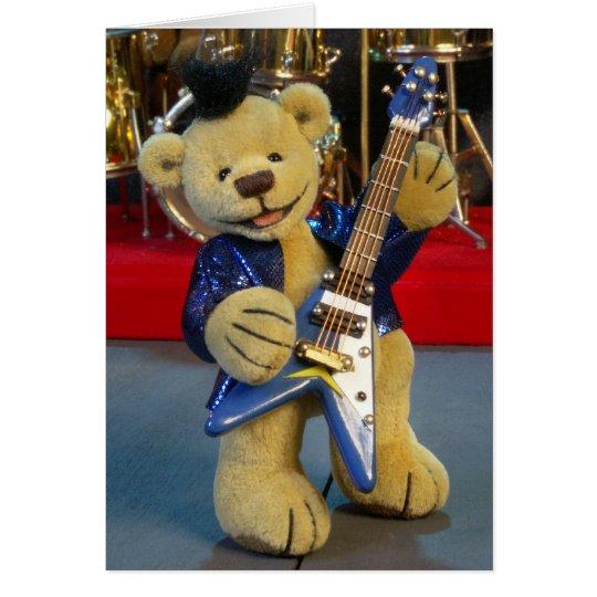Dinky Bärn-Gitarrist Karte
