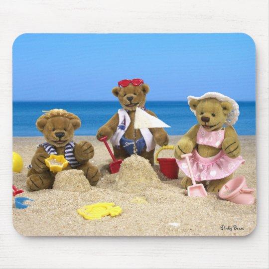 Dinky Bärn-Strand-Spaß Mauspad