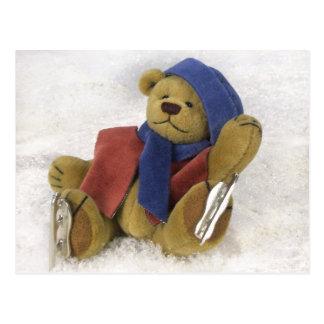 Dinky Bärn-Winter-Spaß Postkarten