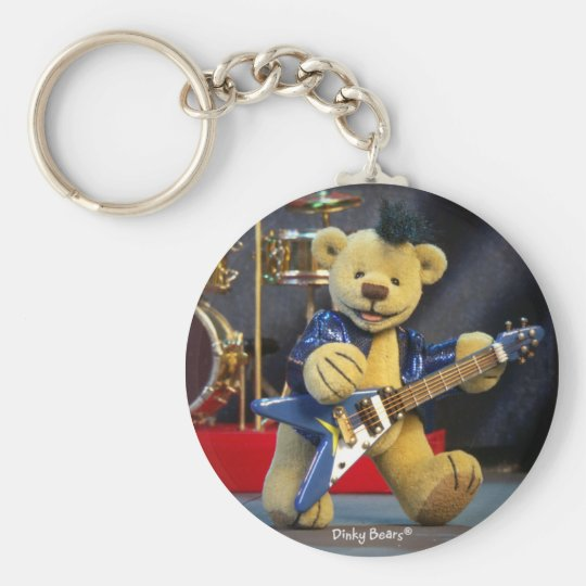 Dinky Bears: Rockstar Schlüsselanhänger