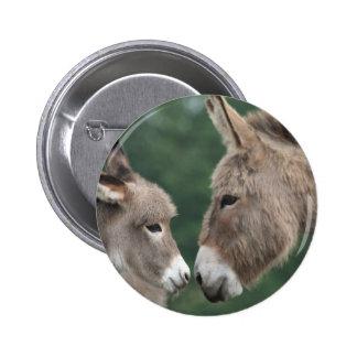 Dinky Esel Runder Button 5,7 Cm