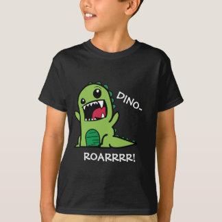 Dino-Brüllen! Dinosaurier scherzt den T - Shirt