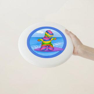 Dino-Buddies™ Frisbee - surfendes BO (Blau)