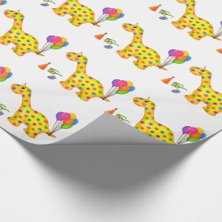 Dino-Buddies™ Packpapier - Rollo™ w/Balloons