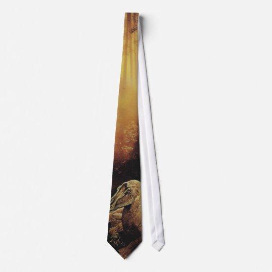 Dino Dinosaurier Saurier dinosaur Personalisierte Krawatten