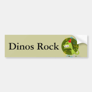 Dino Felsen - Dinosaurier-Geburtstags-Party Autoaufkleber