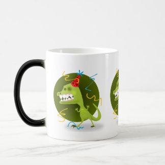 Dino Felsen - Dinosaurier-Geburtstags-Party Verwandlungstasse