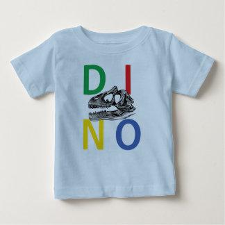 DINO - hellblauer Baby-Geldstrafe-Jersey-T - Shirt