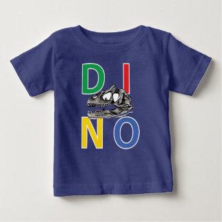 DINO - königlicher blaues Baby-Geldstrafe-Jersey-T Baby T-shirt