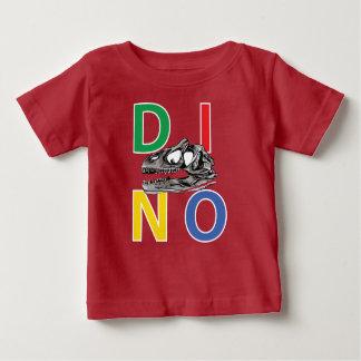 DINO - roter Baby-Geldstrafe-Jersey-T - Shirt