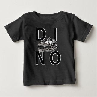 DINO - schwarzer Baby-Geldstrafe-Jersey-T - Shirt