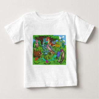 Dinos_playing Baby T-shirt