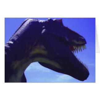 Dinosaurier-alles Gute zum Geburtstagkarte Karte