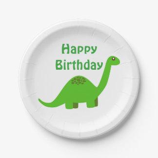 Dinosaurier-alles- Gute zum Pappteller
