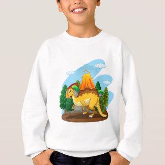 Dinosaurier, der im Wald lebt Sweatshirt