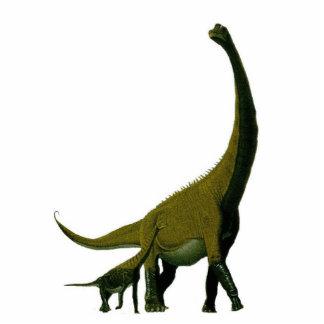 Dinosaurier-Foto-Skulptur Astrodon Gregory Paul Freistehende Fotoskulptur
