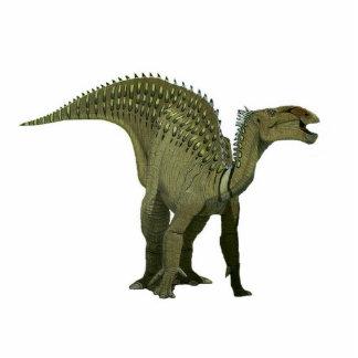 Dinosaurier-Foto-Skulptur Iguanodon Acrylausschnitt